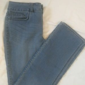 Riders by Lee mid rise straight leg jeans